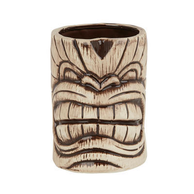 Toscano Kanaloa Tiki Mug Light & Coffe Brown 640 ml - 1